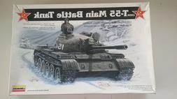 1/35 scale USSR T-55 Main Battle Tank model kit