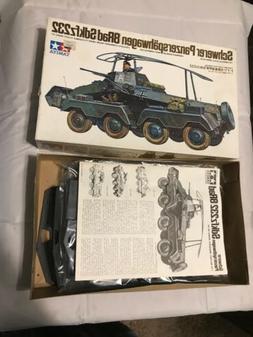 TAMIYA 1/35 Schwerer Panzerspähwagen  Sdkfz232 Precision Mo