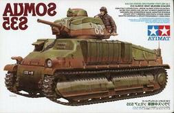 Tamiya 1:35 Somua S35 French Medium Tank Plastic Model Kit #