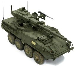 AFV Club 1:35 Stryker M1128 MGS Mobile Gun System Plastic Mo