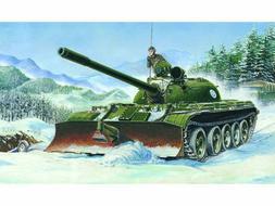 1/35 TRUMPETER T-55 MODEL 1958 W/ BTU-55