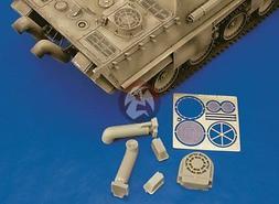 Royal Model 1/35 Tank Exhaust Mufflers Panther Ausf.G / Jagd