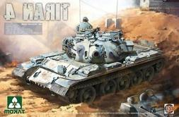 Takom 1:35 Tiran 4 IDF Medium Tank Plastic Model Kit #2051
