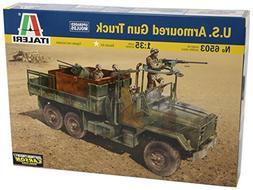 1:35 U.s Armoured Gun Truck Model Kit