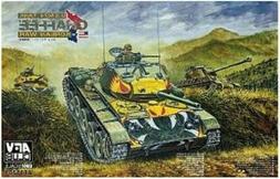 AFV Club 1/35 US M24 Chaffee Korean War Tank Model Kit