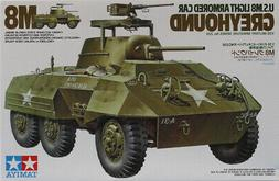 Tamiya 1:35 US M8 Light Armored Car Greyhound Plastic Model
