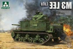 Takom 1:35 US Medium Tank M3 Lee Late Plastic Model Kit #208