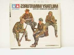 1/35 Tamiya WW2 German Soldiers Seated At Rest 4 Figures Pla