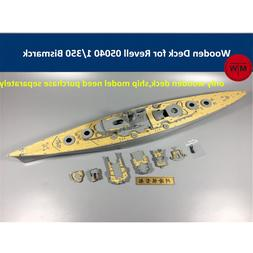 1/350 Scale Wooden Deck for <font><b>Revell</b></font> 05040