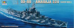 Trumpeter 1:350 USS Alabama BB-60 Battleship Plastic Model K