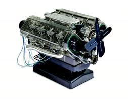 Haynes 1:4 Scale See Through V8 Engine Model Kit HM12US w Mo