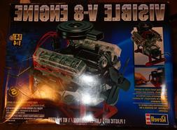 REVELL 1/4 VISIBLE V-8 ENGINE MODEL KIT NEW NOS