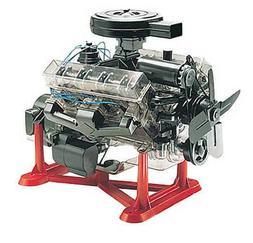 Revell 1:4 Visible V-8 Engine Plastic Model Kit 85-8883 RMX8