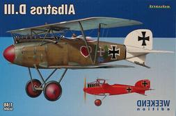 Eduard 1:48 Albatros D.III Weedend Edition Plastic Model Kit