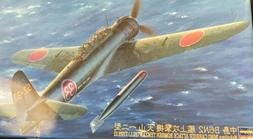 Hasegawa 1/48 B6N2 Tenzan  Type 12 Attack Bomber Model Kit W