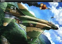 """1/48 F-4C """"Vietnam War"""" Plastic Model Kit Airplanes 12294"""