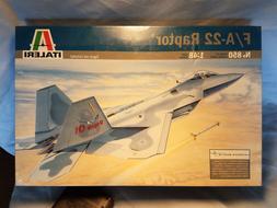 ITALERI 1/48 F/A-22 RAPTER MODEL KIT #850 NISB