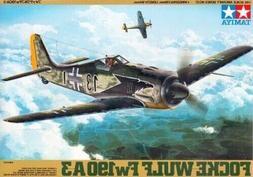 Tamiya 1:48 Focke Wulf FW190 A3 Plastic Model Kit 61037 TAM6