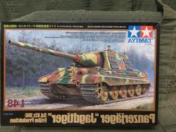 1/48 german jagdtiger panzer jaeger tank model kit tamiya