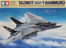 Tamiya 1:48 Grumman F-14A Tomcat w/ 2 Figure 3 Markings 3 Mi