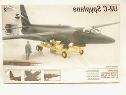 1/48 Testors Hawk U-2C Spy Plane Dragon Lady Plastic Scale A