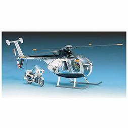 ACADEMY MODELS 1:48 Hughes 500D Police Copter ACD12249-NEW