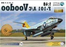 Kitty Hawk 1/48  KH80115 Model Kit F-101 A/C Voodoo