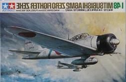 Tamiya 1:48 Mitsubishi A6M2 Zero Fighter Zeke Type 21 Plasti