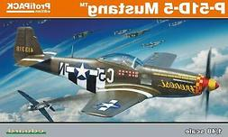 Eduard 1/48 Model kit US WWII fighter aircraft P-51D-5 Musta
