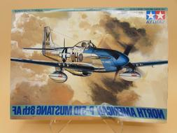 1/48 TAMIYA - P-51D MUSTANG 8th AF FIGHTER Plane Model Kit A