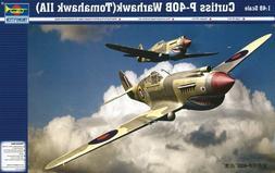 Trumpeter 1/48 P40B Warhawk  Fighter Model Kit