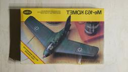 Testors 1:48 Plastic Model Kit Me-163 Komet #625 Brand New S