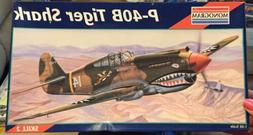 1/48 Revell Monogram No. 5209 P-40B TIGER SHARK Parts Sealed