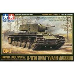 Tamiya 1/48 Russian KV1 Heavy Tank Plastic Model Kit TAM3254