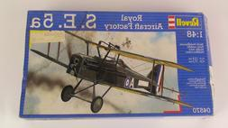 Revell 1:48 S.E. 5a Royal Aircraft Factory Model Kit #04570