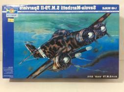 Trumpeter 1:48 Savior-Marchetti SM 79-II Sparviero Bomber Ai