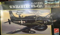 1/48 SCALE AMT ERTL 8622 DOUGLAS AD-4W SKYRAIDER U.S. MARINE