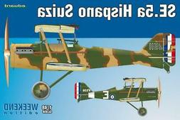 Eduard 1:48 SE.5a Hispano Suiza Plastic Model Kit #8453