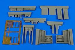 Aires 1:48 Spitfire Mk.IXc Late Gun Bay for Eduard Kit - Res