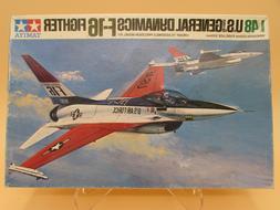 1/48 TAMIYA - US GENERAL DYNAMICS F-16 FIGHTER Jet Model Kit