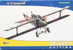 Eduard 1:48 WWI Roland C.II Weekend Edition Plastic Aircraft