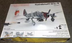 TESTORS 1/48th Scale REPUBLIC P-47 THUNDERBOLT Plastic Model
