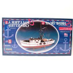 Lindberg 1/60 Scale Shrimp Boat Level 2 Plastic Model Kit 77