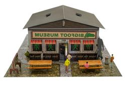 1/64 Bigfoot Museum Model Building Kit Memorabilia Gifts Toy