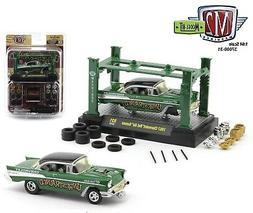 1:64 M2 Machines *MODEL KIT 31* Green 1957 Chevrolet Bel Air