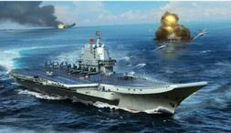 TRUMPETER 1/700 PLA Chinese Navy Type 002 Aircraft Carrier