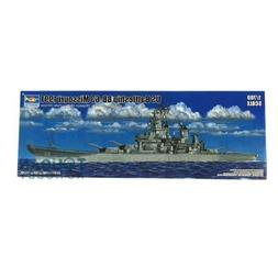 Trumpeter 1/700 USS Missouri Battleship BB-63 1991 DIY Model