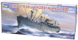 Trumpeter 1/700 USS SS John W Brown Liberty Ship Model Kit