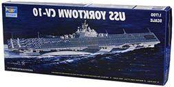 Trumpeter 1/700 USS Yorktown CV10 Aircraft Carrier Model Kit