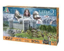Italeri 1:72 100 Years' War - Castle Under Siege Plastic Mod